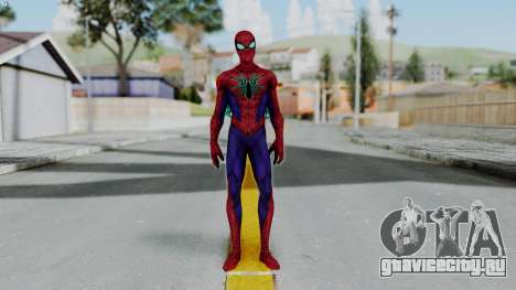 Marvel Future Fight Spider Man All New v2 для GTA San Andreas второй скриншот