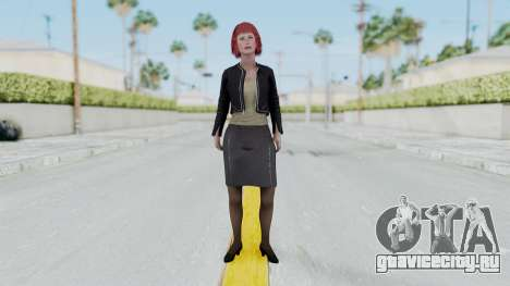 Assassins Creed 4 Melaine Lemay для GTA San Andreas второй скриншот