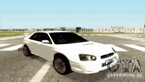 Subaru Impreza WRX STi Civil для GTA San Andreas
