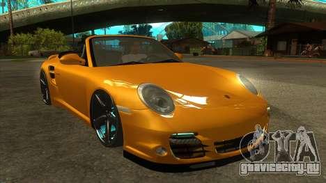 Porsche 911 для GTA San Andreas вид сзади