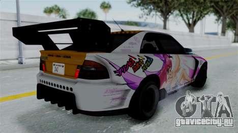 GTA 5 Karin Sultan RS Drift Big Spoiler PJ для GTA San Andreas