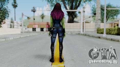 Marvel Future Fight - Gamora для GTA San Andreas третий скриншот