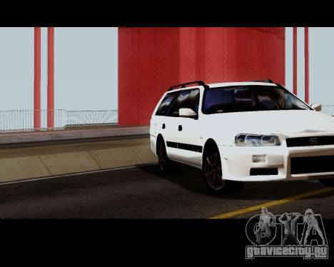 Nissan Stagea Tunable для GTA San Andreas