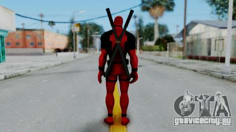 Marvel Heroes - Deadpool для GTA San Andreas третий скриншот
