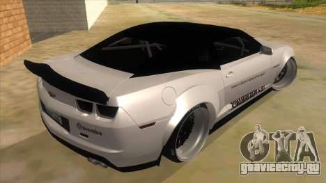 2012 Chevrolet Camaro ZL1 Liberty Walk для GTA San Andreas вид справа