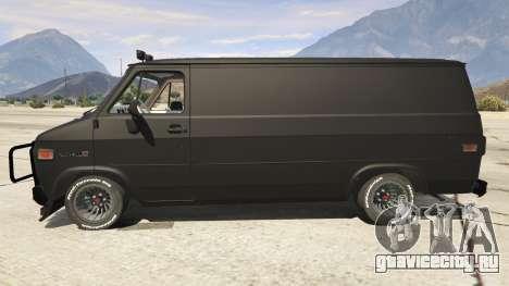 GMC Vandura (A-Team Van) для GTA 5