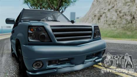 GTA 5 Albany Cavalcade v1 IVF для GTA San Andreas вид сзади