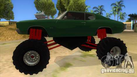 1970 Chevrolet Chevelle SS Monster Truck для GTA San Andreas вид слева