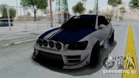 GTA 5 Karin Sultan RS Rally PJ для GTA San Andreas колёса