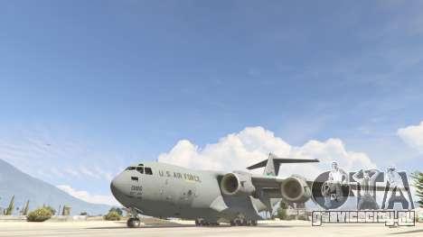 C-17A Globemaster III v.1.1 для GTA 5