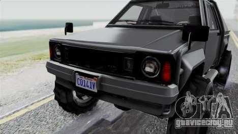 GTA 5 Karin Rebel 4x4 IVF для GTA San Andreas вид сверху