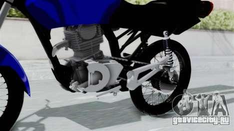 Honda CG Titan 2014 Stunt для GTA San Andreas вид справа