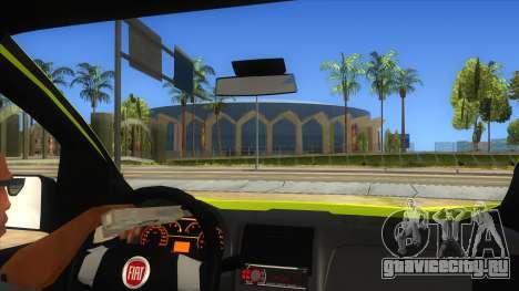 Fiat Fiorino для GTA San Andreas вид изнутри