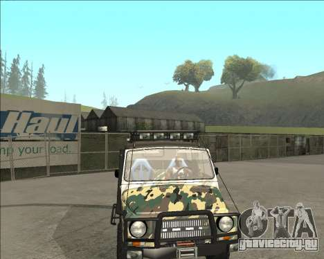 ЛуАЗ 969М Off Road для GTA San Andreas вид справа