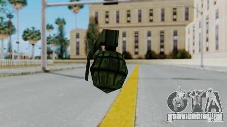 GTA 3 Grenade для GTA San Andreas