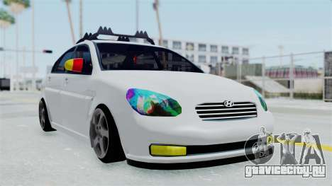 Hyundai Accent Essential Garage для GTA San Andreas