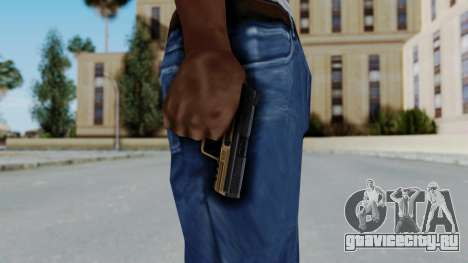HK45 Sand Frame для GTA San Andreas третий скриншот