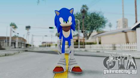 Sonic Boom для GTA San Andreas второй скриншот