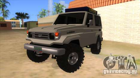 Toyota Machito 4X4 для GTA San Andreas