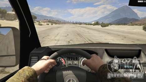 Mercedes-Benz Sprinter Worker Van для GTA 5 вид сзади