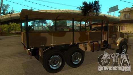 GTA V HVY Barracks OL для GTA San Andreas вид справа