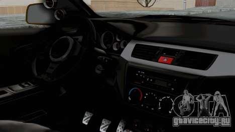 Mitsubishi Lancer Evolution IX MR Edition для GTA San Andreas вид справа
