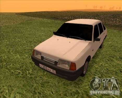 ИЖ Ода 1.6e для GTA San Andreas