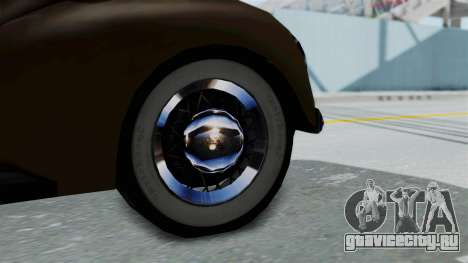 Lincoln Continental 1942 Mafia 2 v1 для GTA San Andreas вид справа