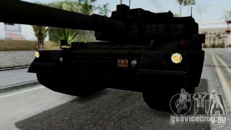 Point Blank Black Panther Woodland IVF для GTA San Andreas вид сверху