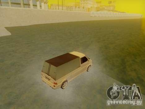 Volkswagen T4 Caravelle 35 Cup (1997) [Вездеход] для GTA San Andreas вид слева