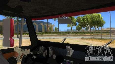 Jeep Pick Up Stylo Colombia для GTA San Andreas вид изнутри