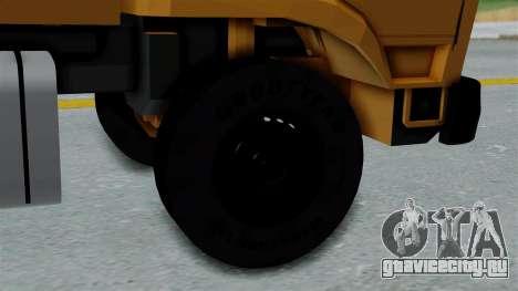 FAP Đubretarski Kamion для GTA San Andreas вид сзади слева