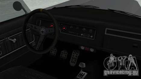 GTA 5 Mamba для GTA San Andreas вид справа