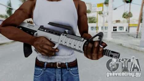 GTA 5 Bullpup Rifle - Misterix 4 Weapons для GTA San Andreas третий скриншот