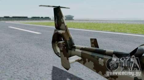 PO-34 Orca для GTA San Andreas вид сзади слева