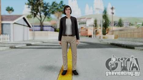 GTA 5 Karen Daniels Biker для GTA San Andreas второй скриншот