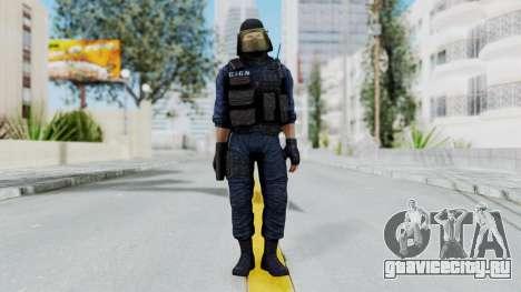 GIGN 1 Masked from CSO2 для GTA San Andreas второй скриншот