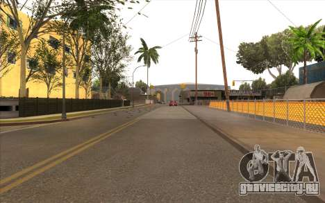Ремонтные работы на Grove Street для GTA San Andreas пятый скриншот