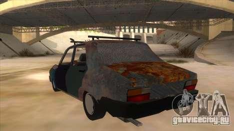 Dacia 1310 Rusty v2 для GTA San Andreas вид сзади слева