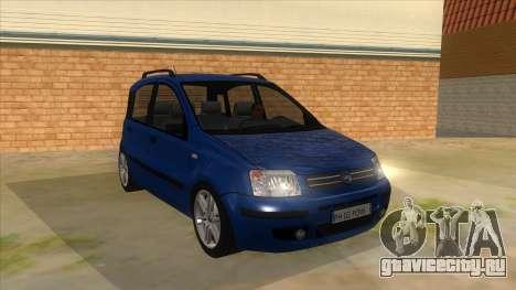 Fiat Panda V3 для GTA San Andreas вид сзади