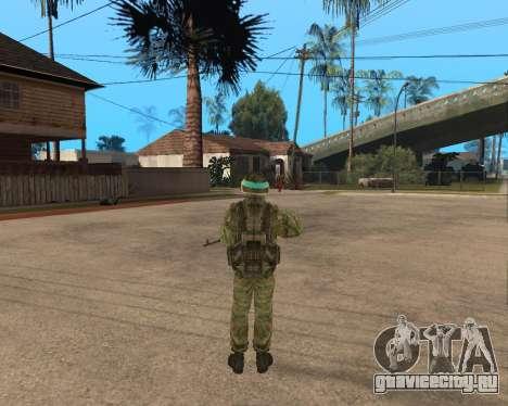 Русская армия Skin Pack для GTA San Andreas третий скриншот