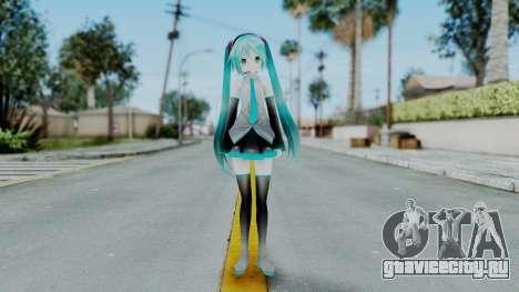Mamama Api Miku from MMD для GTA San Andreas второй скриншот