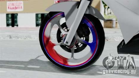 Honda CB150R для GTA San Andreas вид сзади слева
