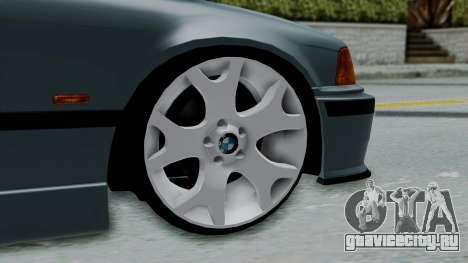 BMW 320 E36 Coupe для GTA San Andreas вид сзади слева
