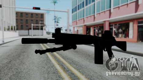 FN-FAL from CS GO with EoTech для GTA San Andreas