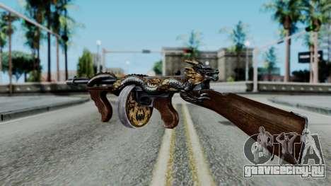 Dragon Thompson для GTA San Andreas третий скриншот