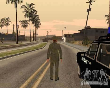 Русская армия Skin Pack для GTA San Andreas одинадцатый скриншот