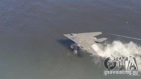 Lockheed F-117 Nighthawk Black 2.0 для GTA 5 шестой скриншот