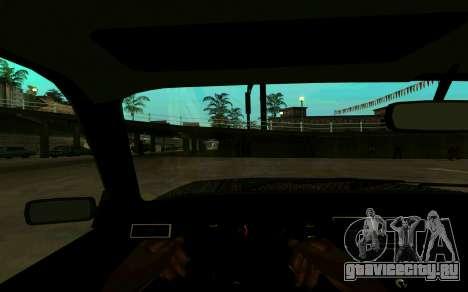 Ваз 2107 Зима для GTA San Andreas вид справа