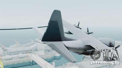 KC-130 Air Tanker для GTA San Andreas вид сзади слева